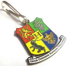 HOGWARTS Coat of Arms Harry Potter Book Movie Jacket Coat ZIPPER PULL CLIP