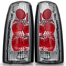 Chrome/Clear Tail Lights for Chevy GMC C K Tahoe Suburban Blazer OE Fit Pair