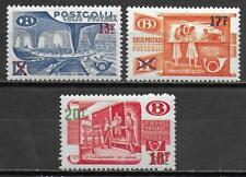 Belgium stamps 1953 OBP SP331-SP333 MNH VF TRAIN stamps
