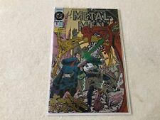 METAL MEN 1  DC  comic book