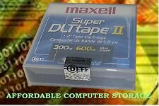 1-PACK MAXELL NEW SEALED DATA Super DLT Cartridge DLTtape II 600Gb 183715