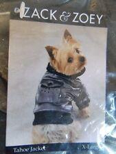 """New  ZACK & ZOEY Dog Gorgeous Tahoe S Jacket w/Hood  Size: XLarge-Length 20""""-24"""""""