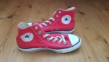 Converse All Star Hi-Tops - Red - Unisex - Mens Size 6