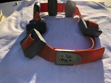 Vtg Dacor Nylon Dive Belt 22 lbs Lead Weights Scuba Diving Snorkeling Diver