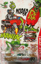 Hot Wheels CUSTOM '59 IMPALA  Mopar Rat Fink Real Riders Limited Edition!