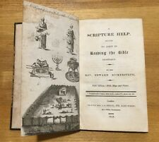 1819 - A Scripture Help... In Reading The Bible.  By Edward Bickersteth.