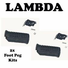 Foot Peg Rubber Kit PAIR for Honda CT110 Postie Bikes