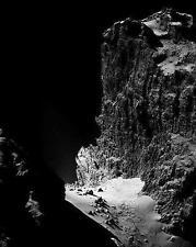 REAL OTHERWORLDLY LANDSCAPE picture Comet NASA astronomy print FREE Bonus Photo