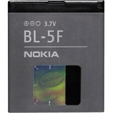 GENUINE BL-5F NOKIA BATTERY FOR NOKIA 6290 6210 E65 N93i N95 SILVER N96 950mAh U