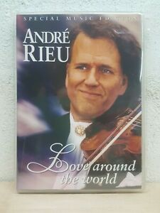 ANDRE RIEU LOVE AROUND THE WORLD (SPECIAL MUSIC EDITION)  DVD