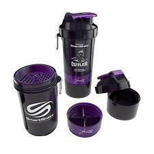 Jay Cutler SmartShake Protein Blender Mixer Bottle 20 oz NEON BLACK SHAKER CUP