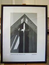 ROBERT W COOKE MCM  LARGE FINE ART PHOTOGRAPH CROSS FACADE, UMC, WAYNE, NJ 1976