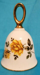 Bell 1978 American Treasury American Beauty Yellow Rose Bell No 1536