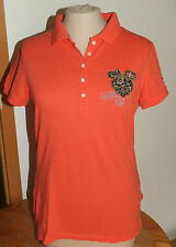 Neu NAPAPIJRI  Polo Shirt, Gr. S, orange, super