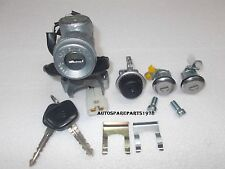 Lock Set - Ignition, Doors, Glove Box & 2 Keys - OEM - Suzuki Samurai 86-95