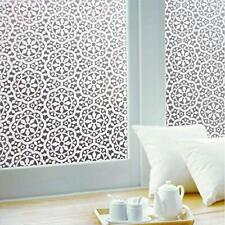 Lifetree Frosted Window Film Privacy Lace Decorative Static Cling Self Adhesive