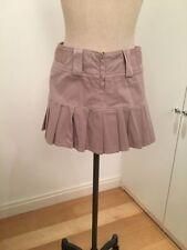 Unbranded Denim Patternless Short/Mini Skirts for Women