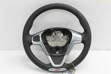 2017 MK7 FORD FIESTA Multifunctional Black Leather Steering Wheel