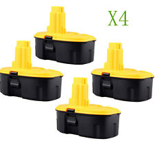 4pcs 18V Ni-Cd Rechargeable Battery for DEWALT 18 VOLT Cordless Drill Power Tool
