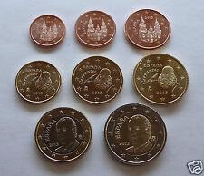 manueduc   ESPAÑA 2002  Las 8 Monedas NUEVAS , Sin Circular