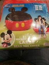 Mickey Mouse Large Bean Bag Cover (ONLY) Material :Vinyl