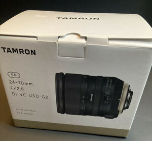 Tamron sp 24-70mm f/2.8 di vc usd canon BOX ONLY ***Empty Box***