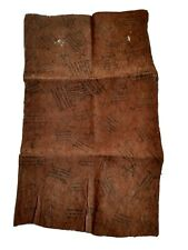 A Mbuti barkcloth from the Ituri Forest of the D.R.of the Congo