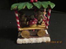 Fitz & Floyd Charming Tails Tea Party Train Ride Figurine
