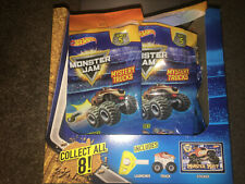 MONSTER JAM Mini Truck Launcher CHOOSE Blind Bags Series 5 Hot Wheels Show Car