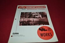 Bobcat Skid Steer Does The Job in Swimming Pool 1976 Dealers Brochure DCPA2