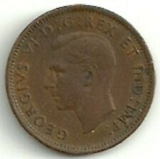 1942 Canada One Cent Coin FC875
