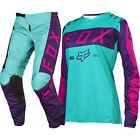 Fox 2017 Mx NEW 180 Purple Pink Seafoam Jersey Pants Womens Motocross Gear Set