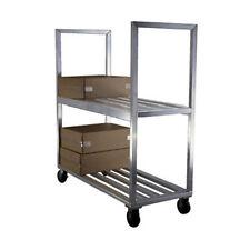 New Age 1151 Mobile 2 Shelf Truck Flat Shelf 2600 lb Capacity
