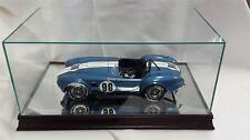The 1:12 Scale Glass and Wood Display Case for Scale Model Cars  MM1212
