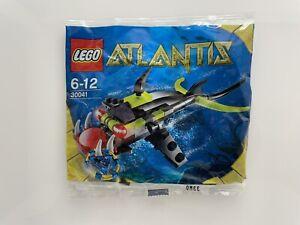 Lego Atlantis Piranha 30041 Polybag Fish 6-12 Official New Sealed Packet BNIP