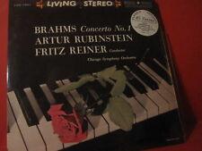 "RUBINSTEIN ""BRAHMS-CONCERTO NO.1""(180GRAM-CLASSIC RECORDS/4-45RPM-LP-SET/SEALED)"