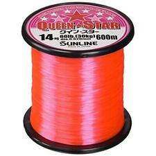 SUNLINE Queen Star Nylon 600m #5 Pink Fishing Line