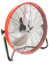 20 In. Floor Shroud Fan Power Airflow Air Circulation Industrial Commercial NEW