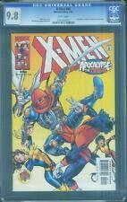 X Men 96 CGC 9.8 Apocalypse Alan Davis Mark Farmer 2000 Rare High Grade