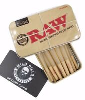 RAW CONES 98 SPECIAL SIZE  15 COUNT W SCOOP AND RAW TIN
