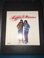 LOGGINS & MESSINA THE BEST OF FRIENDS 8 TRACK TAPE 7923-1 BOX 17