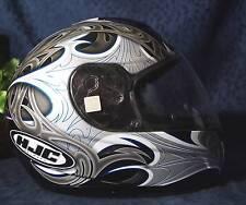 Nice Black Gray Blue White HJC PARADOX CS-R1 Full Face Motorcycle Helmet Sz XS