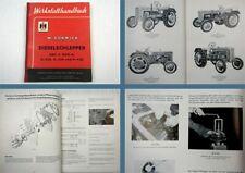 Mc Cormick D320 D324 D430 DED3 DGD4 Werkstatthandbuch 1958 Reparaturanleitung