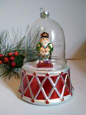 Mr Christmas Drummer figurine Plays Nutcracker