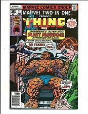 MARVEL TWO IN ONE # 37 (THE THING & DAREDEVIL / MATT MURDOCK, MAR 1976), VF/NM