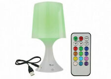 Stella Bedroom Night Lamp with Timer and Remote Control, 7 LED Colors