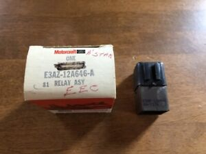 NOS 1981-1992 Ford Mustang Turbo Bronco Lincoln Mark V8 302 EEC Powertrain Relay