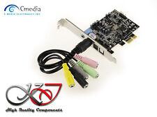 Carte Contrôleur PCIE SON 7.1 - CHIPSET CM8826 - CMEDIA OXYGEN HD