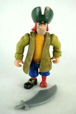 Famosa Disney Heroes Peter Pan Jukes Peg Leg Pirate figure 00's