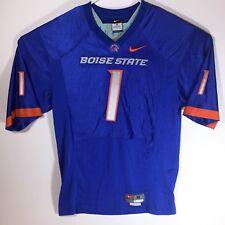Sewn Nike Mens Boise State Broncos Football Jersey #1 Size medium Length +2